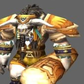 Cairne Bloodhoof Game Character