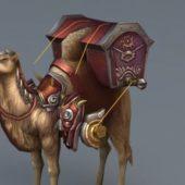 Camel Caravan Game Character