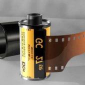 Vintage Camera Film Roll