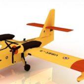 Canadair Firefighting Amphibious Aircraft