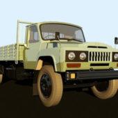 Old Cargo Truck Design