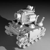 Military Cartoon Tank