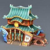 Cartoon Chinese Architecture