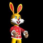 Chinese Zodiac Rabbit Character