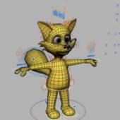 Cartoon Animal Fox Character