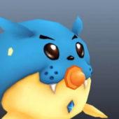 Cartoon Seal Animal Character