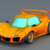 Cartoon Sport Car Design