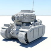 Weapon Cartoon Tank