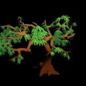 Cartoon Style Tree Branches