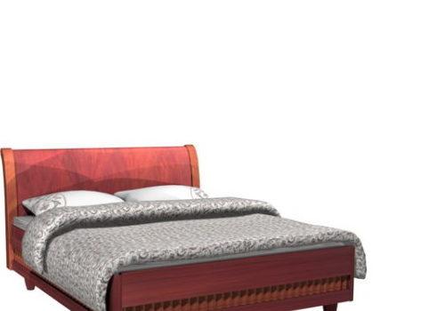 Carved Wooden Bed Furniture