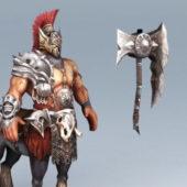 Centaur Warrior Character