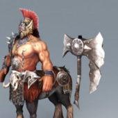Greek Centaur Warrior