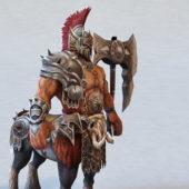Character Centaur Warrior Rigged