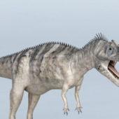 Realistic Ceratosaurus Dinosaur