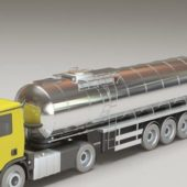 Industrial Chemical Tank Truck