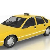 Chevy Car Caprice Taxi Cab