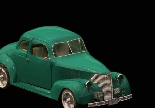 Green Chevy Classic Car