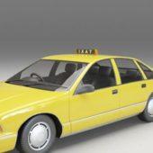 Chevy Taxi Cab Car