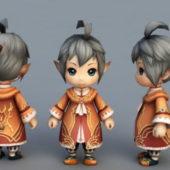 Chibi Elf Boy Anime Character