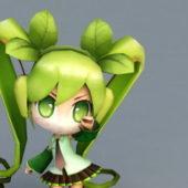 Character Miku Rigged