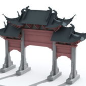China Traditional Gate