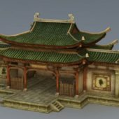 Chinese Ancient Ancestral Hall