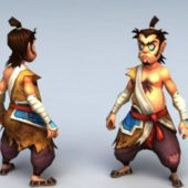 Chinese Anime Character Man