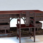 Home Furniture Chinese Antique Writing Desk