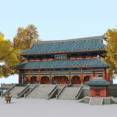 Chinese Ancient Buddhist Temple