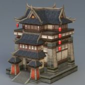 Old Vintage Chinese Building