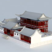 Chinese Building Courtyard House