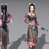 Character Chinese Female Martial Artist