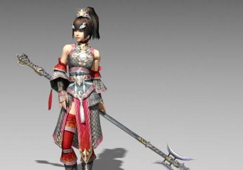 Character Chinese Female Warrior