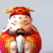 Character Chinese Fortune God