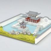 Chinese Vintage Garden Design