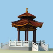 Chinese Outdoor Garden Pavilion