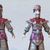 Chinese Character General Dynasty Warrior