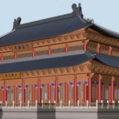 Chinese Ancient Imperial Palace Building