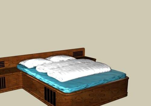 Chinese Furniture Kang Bed