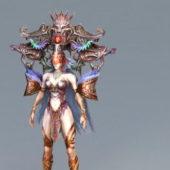 Anime Goddess Character