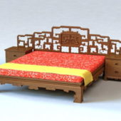 Chinese Furniture Style Bed
