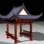 Chinese Style Old Gazebo