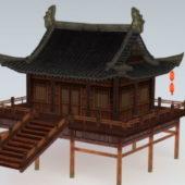 Chinese Style Garden Pavilion