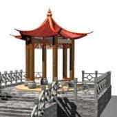 Chinese Style Garden Gazebo