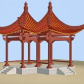 Chinese Pavilion Traditional Architecture