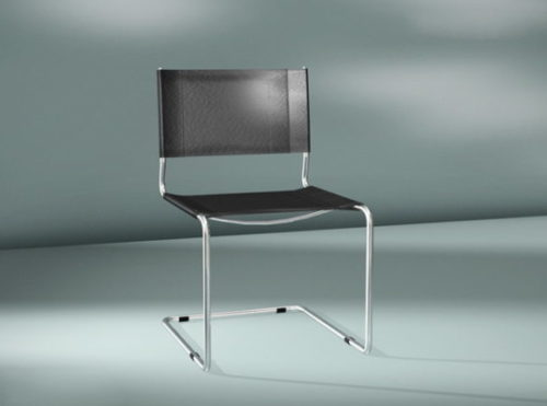 Furniture Metal Cantilever Chair