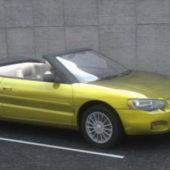 Yellow Chrysler Sebring Car