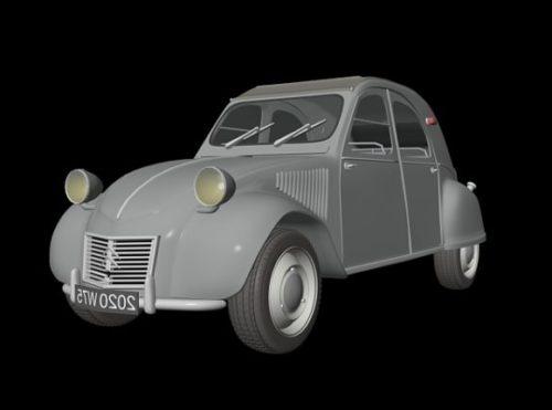 Citroen 2cv Car