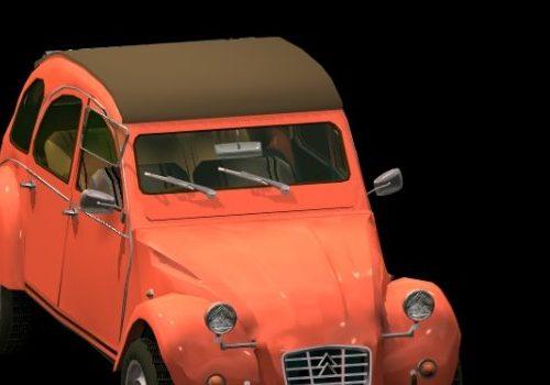 Citroen 2cv Vintage Car
