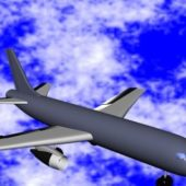 Civilian Airliner Plane